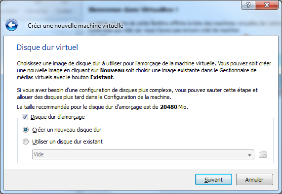 Creation Disque VirtualBox – Mac OS X sur votre PC (Windows)