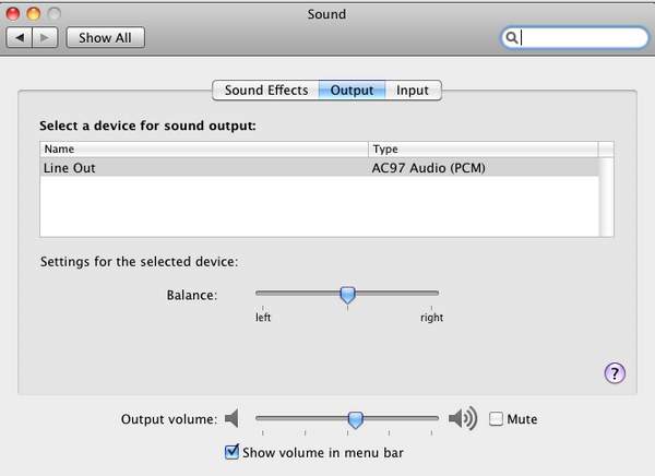Sound AC97 VirtualBox – Mac OS X sur votre PC (Windows)