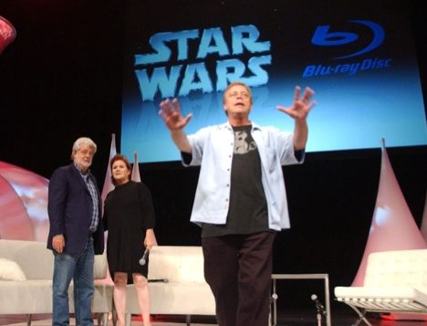 starwarsblu ray George Lucas annonce officiellement Star Wars en Blu ray pour 2011