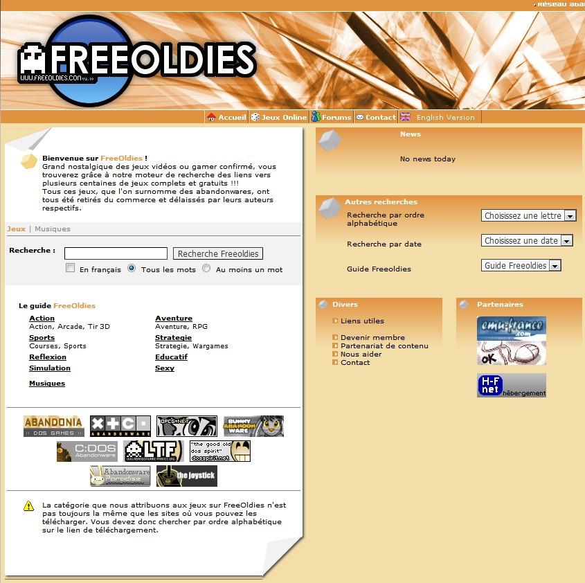 Free Oldies Site