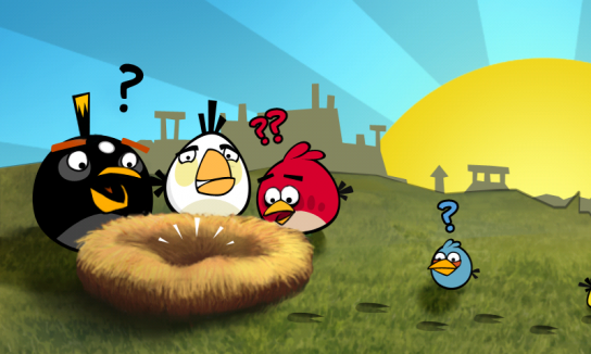 angry birds Angry Birds disponible sur PC