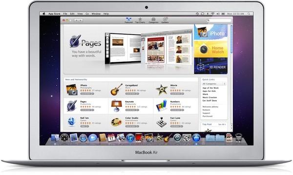 appstore Apple   Lancement du Mac App Store le 13 Décembre?