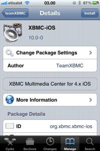 Install XBMC - 3