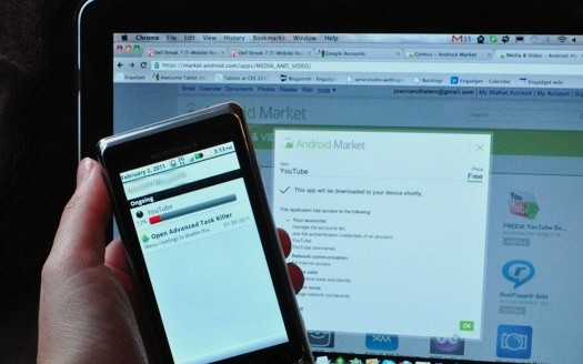 Download Android Market Webstore