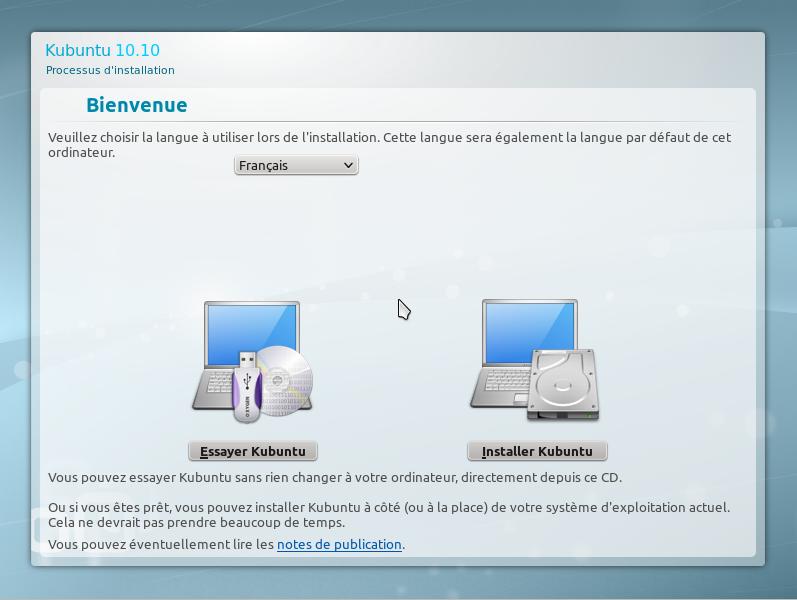 6 15 minutes pour installer GNU Linux!!