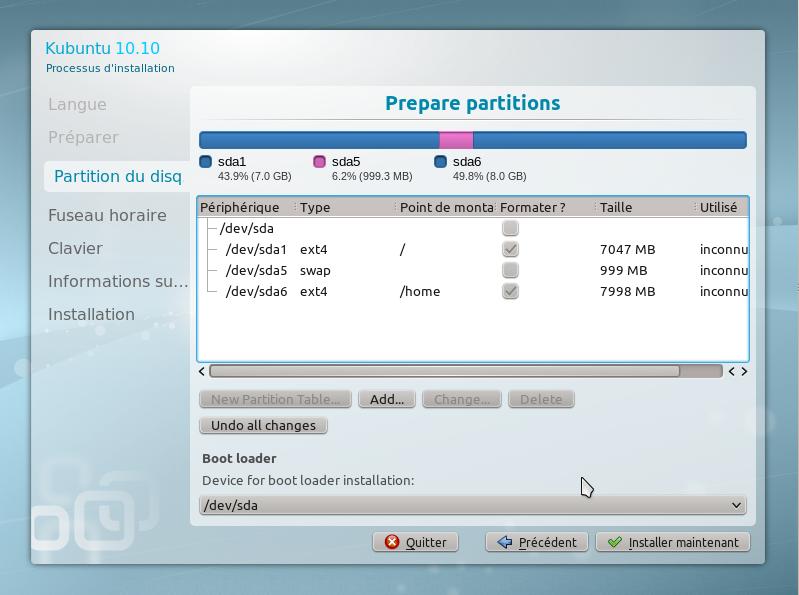 12 15 minutes pour installer GNU Linux!!