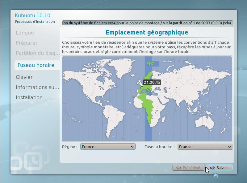 13 15 minutes pour installer GNU Linux!!