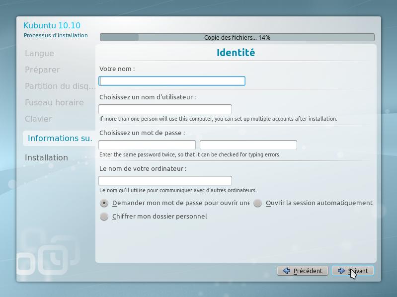 15 15 minutes pour installer GNU Linux!!