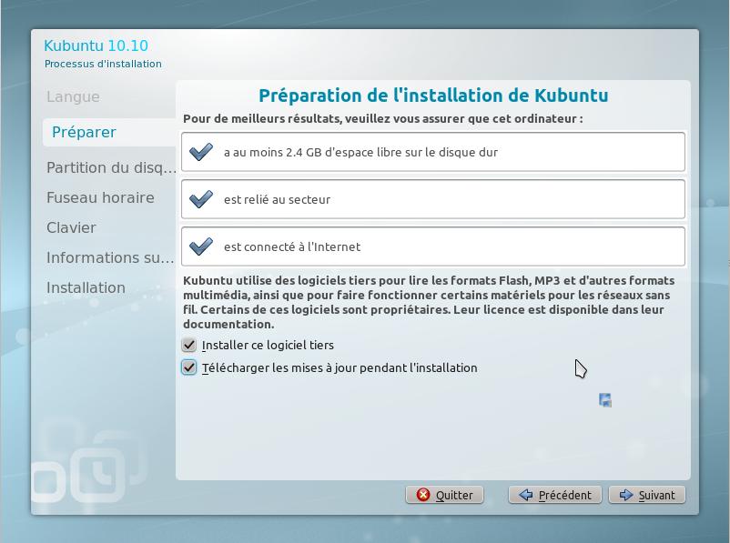 7 15 minutes pour installer GNU Linux!!