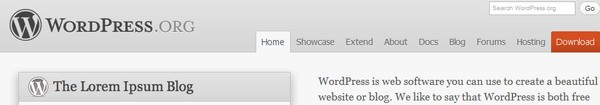 Bandeau Wordpress Wordpress 3.2 en approche...