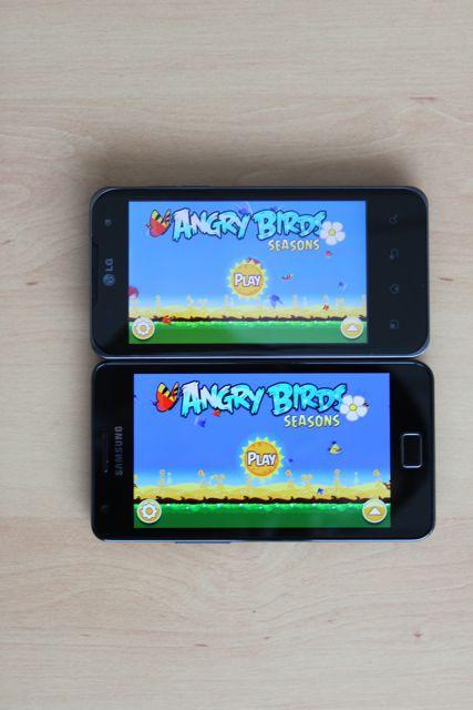 Angry Birds Samsung Galaxy S 2 & LG Optimus 2X