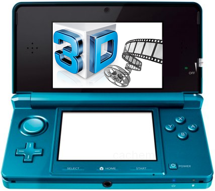 VOD 3D sur la Nintendo 3DS VOD 3D arrive sur la Nintendo 3DS