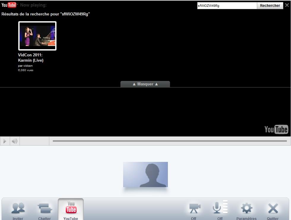 visionner direct dans une video bulle Google Plus