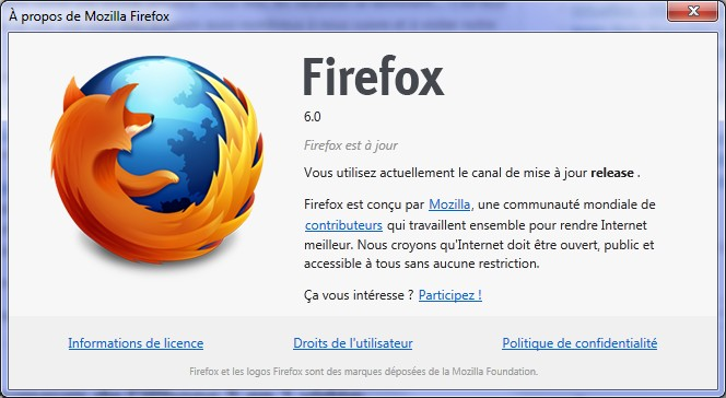 A propos Firefox 6