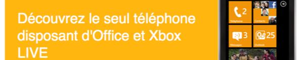 windows phone 7 Microsoft offre des mobiles