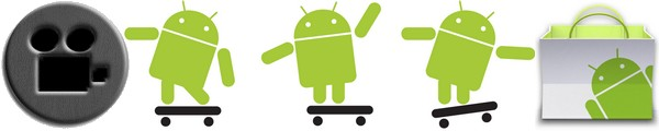 application android - ScreenCast & Screen Recorder