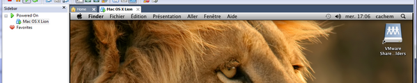 bandeau Mac OS X Lion VMware Windows VMware – Mac OS X Lion sur votre PC (Windows)