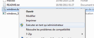 executer en tant andim VMware – Mac OS X Lion sur votre PC (Windows)