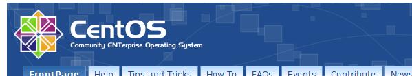 bandeau centos CentOS 6.1 est disponible