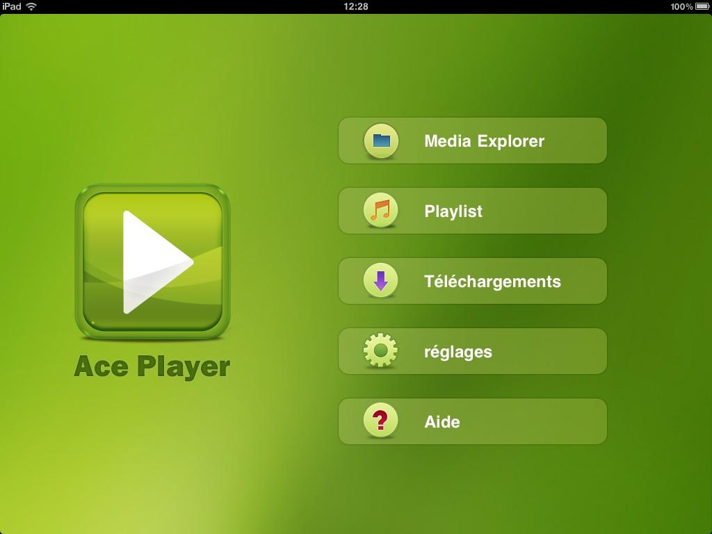 Ace Player sur iPad Le lecteur multimédia ultime pour iPhone, iPod et iPad ?