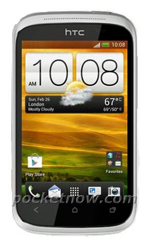 HTC Golf  HTC Golf succède au WildFire et Wildfire S