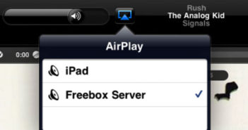 airplay freebox server