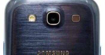 Galaxy S3 noir dos zoom