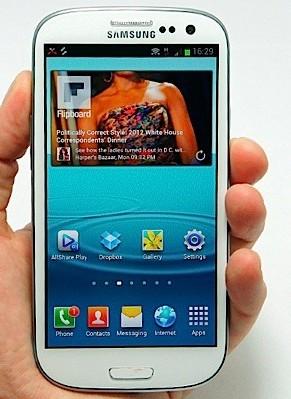 Galaxy S3 Galaxy SIII enfin dévoilé