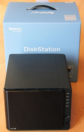 Presentation DS412+ avant Test du Synology DS412+