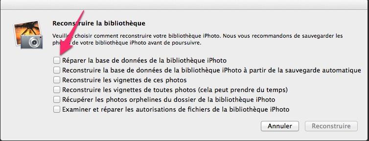 Reconstitution la bibliotheque Astuce iPhoto   Nettoyage, doublons et optimisation