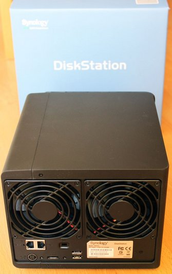Test DS412+ arriere Test du Synology DS412+
