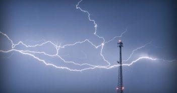 antenne orage eclair