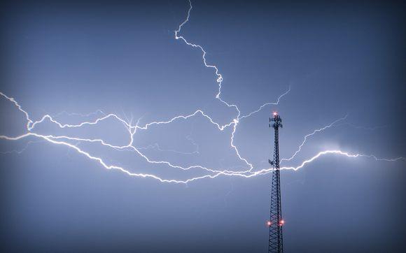 antenne orage eclair Baisse des tarifs mobiles à létranger
