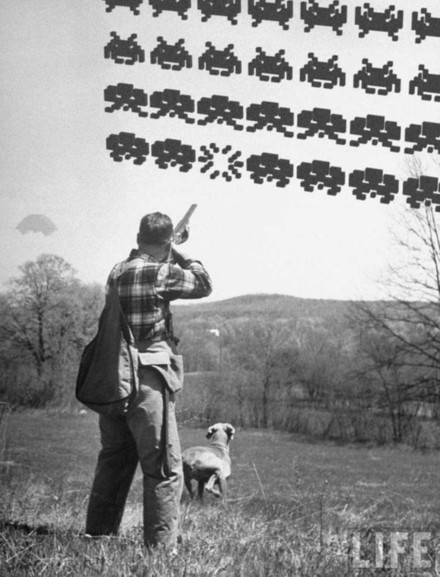 Chasse Space invaders Space Invaders...