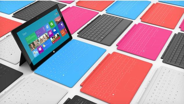 microsoft surface 2012 Microsoft met en vente sa tablette