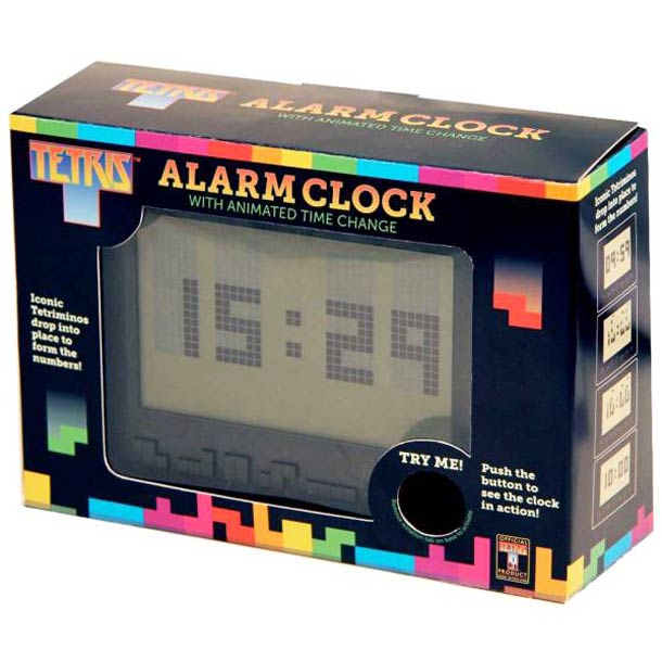 Tetris Alarm Clock Le réveil Tetris
