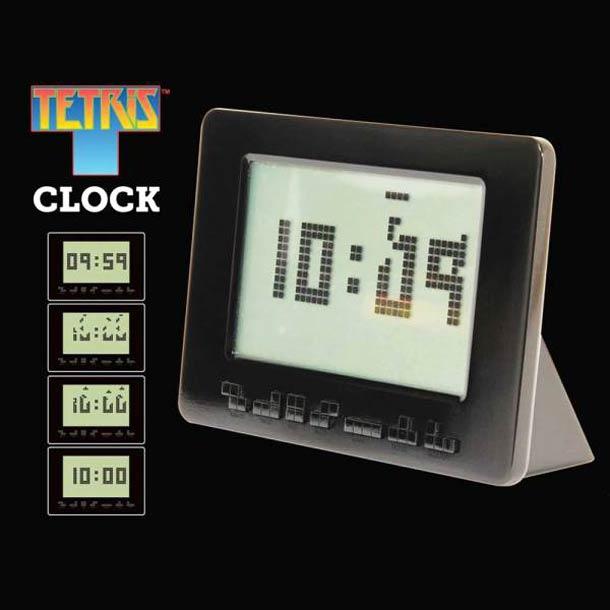 Tetris Reveil horloge Le réveil Tetris