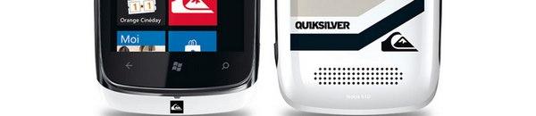bandeau Nokia Lumia 610 & Quiksilver