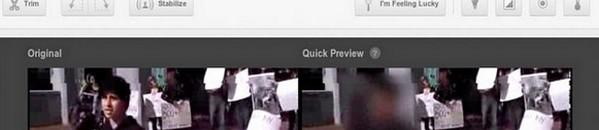 bandeau flou visages YouTube ajoute le floutage de visage