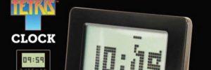 bandeau tetris clock alarme reveil