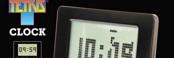 bandeau tetris clock alarme reveil Le réveil Tetris