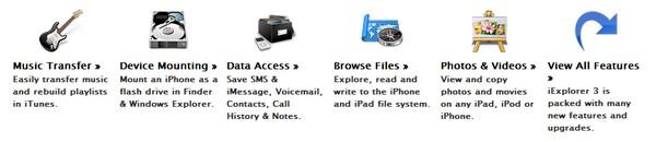 iEplorer 3 Prenez le contrôle de votre iPhone/iPad/iPod avec iExplorer