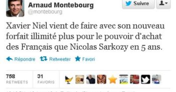 tweet Arnaud Montebourg Free