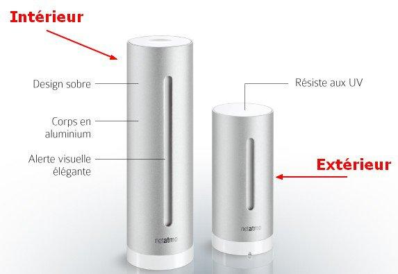 2 modules netatmo