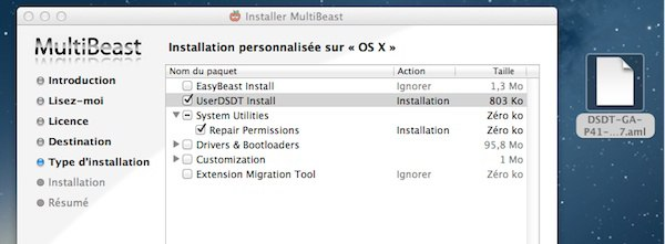 Installer OS X Mountain Lion sur un PC