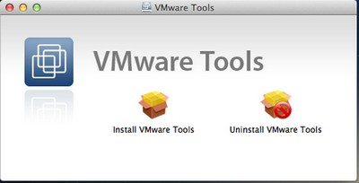 VMware Tools VMware – OS X 10.8 Mountain Lion sur PC Windows