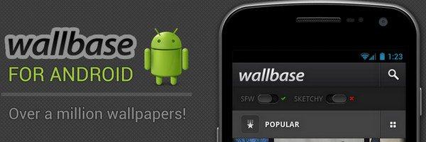 bandeau wallbase android Mobile   Des milliers de fonds décran gratuits