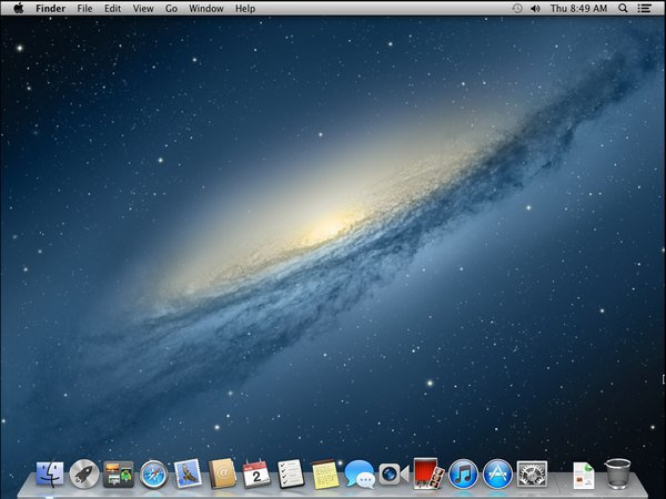 ecran en moutain lion VMware – OS X 10.8 Mountain Lion sur PC Windows
