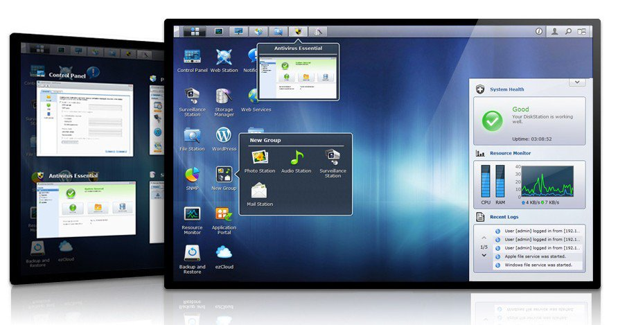 interface dsm 4.1 DiskStation Manager 4.1 débarque
