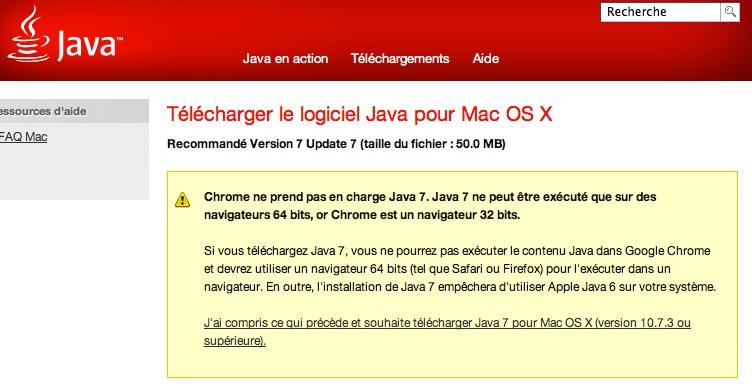 La mise à jour Java enfin disponible